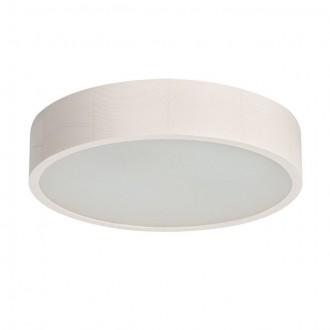 KANLUX 23124 | Jasmin-K Kanlux fali, mennyezeti lámpa kerek 2x E27 fehér tölgy, fehér
