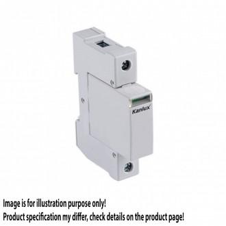 KANLUX 23130 | Kanlux túlfeszültség korlátozó modul DIN35 modul, T2/C, 40kA - 1P világosszürke
