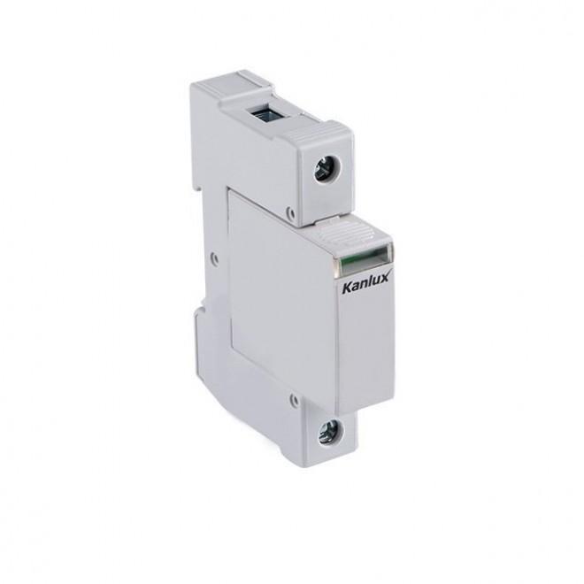 KANLUX 23134   Kanlux túlfeszültség korlátozó modul DIN35 modul, T1+T2/B+C, 50kA - 1P világosszürke