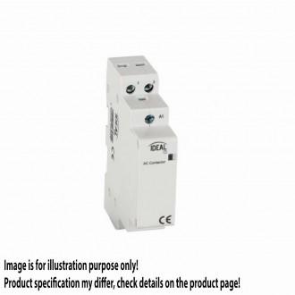 KANLUX 23251 | Kanlux kapcsoló relé DIN35 modul - 1, 25A/8,5A - 20 világosszürke