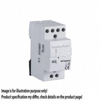KANLUX 23260 | Kanlux sínre szerelhető csengő transzformátor DIN35 modul, 8V/12V/24V világosszürke