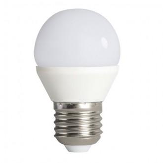 KANLUX 23421 | E27 6,5W -> 48W Kanlux kis gömb G45 LED fényforrás SMD 600lm 4000K 200°