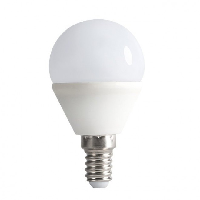 KANLUX 23422 | E14 6,5W -> 48W Kanlux kis gömb G45 LED fényforrás SMD 600lm 3000K 200°
