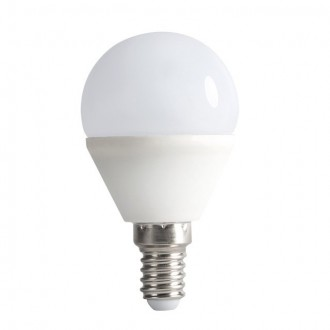 KANLUX 23423 | E14 6,5W -> 48W Kanlux kis gömb G45 LED fényforrás SMD 600lm 4000K 200°