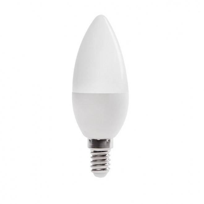 KANLUX 23430 | E14 6,5W -> 48W Kanlux gyertya C37 LED fényforrás SMD 600lm 3000K 210°