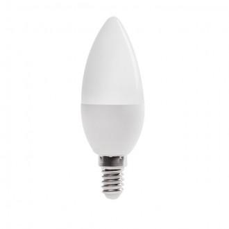 KANLUX 23431 | E14 6,5W -> 48W Kanlux gyertya C37 LED fényforrás SMD 600lm 4000K 210°