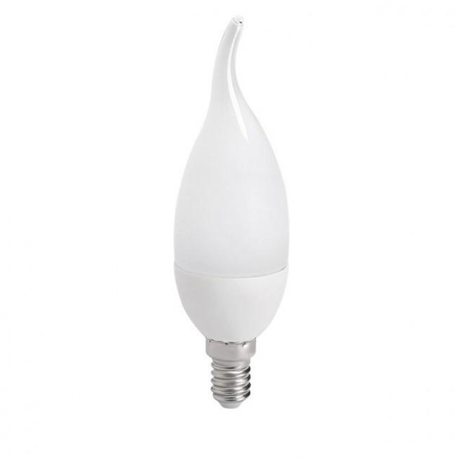 KANLUX 23490 | E14 6,5W -> 48W Kanlux dekor gyertya FC38 LED fényforrás SMD 600lm 3000K 210°