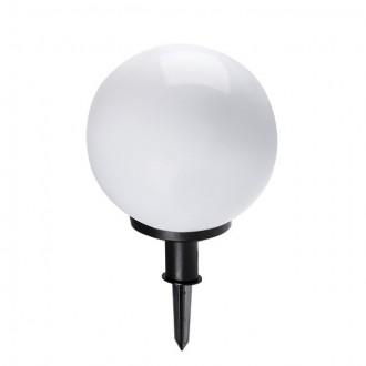 KANLUX 23511 | Idava Kanlux leszúrható lámpa gömb villásdugó - kapcsoló nélkül elforgatható alkatrészek 1x E27 IP44 fekete, fehér