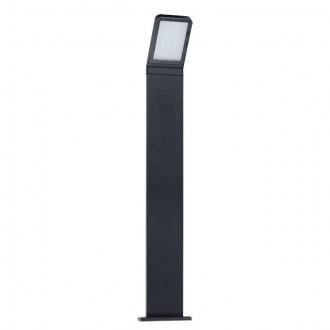 KANLUX 23554 | Sevia Kanlux álló lámpa téglalap 80cm 1x LED 600lm 4000K IP54 fekete