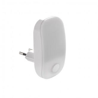 KANLUX 24370 | Plugi Kanlux konnektorlámpa lámpa kapcsoló 1x LED 2lm 3000K fehér