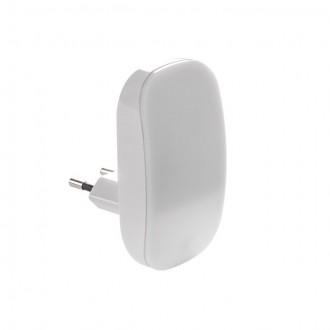 KANLUX 24371 | Plugi Kanlux konnektorlámpa lámpa fényérzékelő szenzor - alkonykapcsoló 1x LED 1lm 3000K fehér