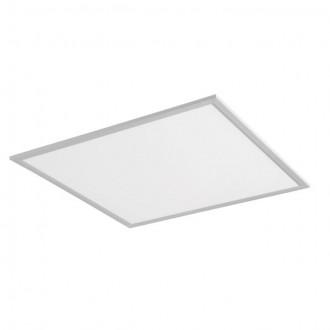 KANLUX 24639 | Bravo Kanlux álmennyezeti, mennyezeti, függeszték LED panel négyzet 1x LED 5000lm 4000K ezüst, fehér