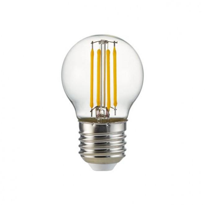 KANLUX 25410 | E27 4W -> 35W Kanlux kis gömb P45 LED fényforrás filament 400lm 2700K 360°