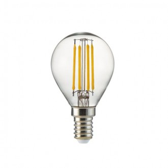 KANLUX 25411 | E14 4W -> 35W Kanlux kis gömb P45 LED fényforrás filament 400lm 2700K 360°