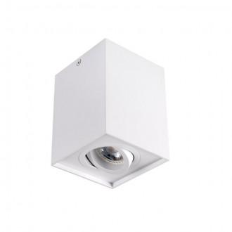 KANLUX 25470 | Gord Kanlux mennyezeti lámpa négyzet elforgatható fényforrás 1x GU10 fehér