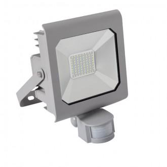 KANLUX 25582 | Antra Kanlux fényvető lámpa téglalap mozgásérzékelő, fényérzékelő szenzor - alkonykapcsoló elforgatható alkatrészek 1x LED 3700lm 4000K IP65 szürke