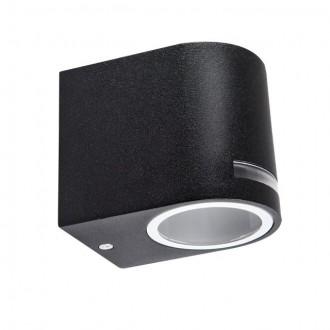 KANLUX 25662 | Novia Kanlux fali lámpa 1x GU10 IP44 fekete