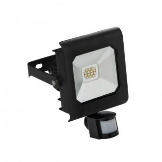 KANLUX 25701 | Antra Kanlux fényvető lámpa téglalap mozgásérzékelő, fényérzékelő szenzor - alkonykapcsoló elforgatható alkatrészek 1x LED 750lm 4000K IP65 fekete