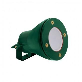KANLUX 25720 | Akven Kanlux vízalatti lámpa 1x MR16 / GU5.3 370lm 3000K IP68 zöld