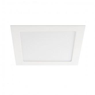 KANLUX 25819 | Katro Kanlux beépíthető LED panel négyzet 226x226mm 1x LED 1260lm 4000K IP44/20 fehér
