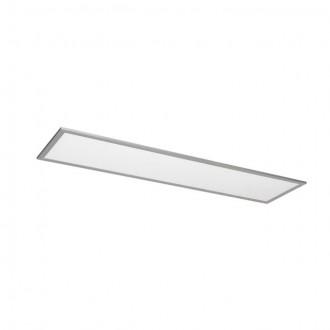 KANLUX 25940 | Bravo Kanlux álmennyezeti, mennyezeti, függeszték LED panel téglalap 1x LED 3700lm 4000K ezüst, fehér