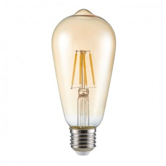 KANLUX 26040 | E27 4W -> 30W Kanlux Edison ST64 LED fényforrás filament 320lm 2500K 300°