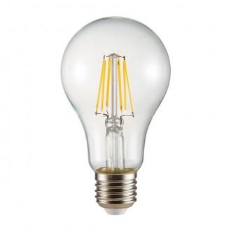 KANLUX 26044 | E27 8W -> 72W Kanlux normál A65 LED fényforrás filament 1000lm 2700K 360°