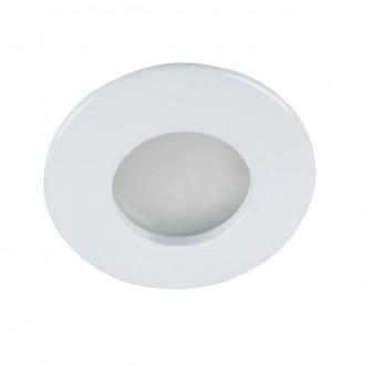 KANLUX 26303   Qules Kanlux beépíthető lámpa kerek Ø83mm 1x GU10 IP44/20 fehér