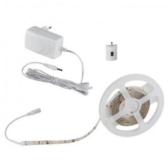 KANLUX 26320 | Kanlux_LS_Set Kanlux LED szalag lámpa mozgásérzékelő szabályozható fényerő 1x LED 450lm 3000-3900K IP54/20 fehér
