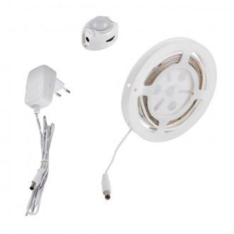 KANLUX 26324 | Kanlux_LS_Set Kanlux LED szalag lámpa mozgásérzékelő 1x LED 240lm 3000-3900K IP54/20 fehér