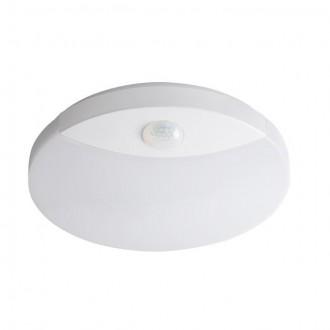 KANLUX 26520 | Sanso Kanlux fali, mennyezeti lámpa kerek mozgásérzékelő 1x LED 1250lm 4000K IP44 fehér
