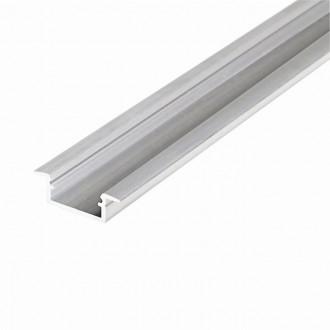 KANLUX 26549 | Kanlux alumínium led profil K - búra nélkül - 2m alumínium