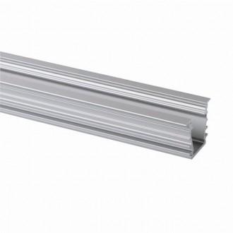 KANLUX 26554 | Kanlux alumínium led profil I - búra nélkül - 1m max. 10 mm LED szalaghoz alumínium
