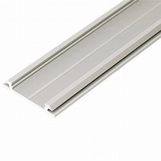 KANLUX 26561 | Kanlux alumínium led profil H - búra nélkül - 2m alumínium