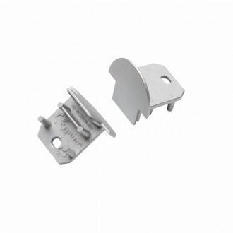KANLUX 26591 | Kanlux végzáró I 2 darabos szett szürke