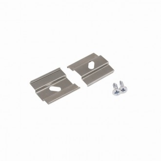 KANLUX 26599 | Kanlux felfogató H 2 darabos szett szürke
