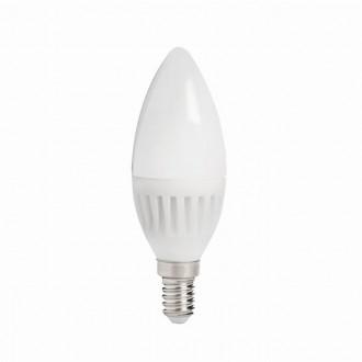 KANLUX 26760 | E14 8W -> 60W Kanlux gyertya C37 LED fényforrás SMD 800lm 3000K 210°