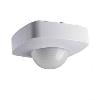 KANLUX 26820 | Kanlux mozgásérzékelő 3xPIR, 360/120° négyzet fehér
