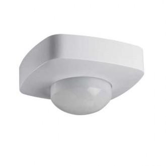 KANLUX 26821 | Kanlux mozgásérzékelő 2xPIR, 360/120° négyzet fehér