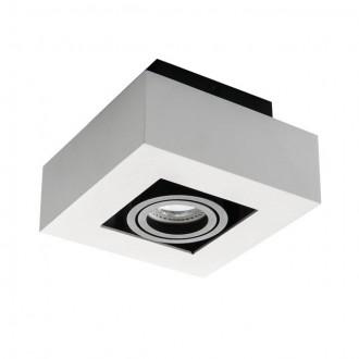 KANLUX 26831 | Stobi Kanlux mennyezeti lámpa négyzet elforgatható fényforrás 1x GU10 fehér
