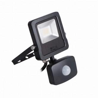 KANLUX 27094 | Antos-LED Kanlux fényvető lámpa mozgásérzékelő, fényérzékelő szenzor - alkonykapcsoló elforgatható alkatrészek 1x LED 800lm 4000K IP44 fekete