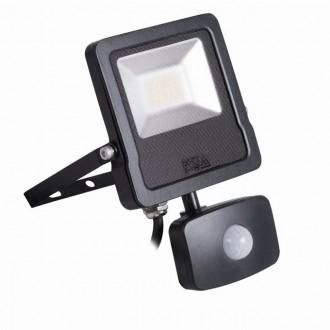 KANLUX 27095 | Antos-LED Kanlux fényvető lámpa mozgásérzékelő, fényérzékelő szenzor - alkonykapcsoló elforgatható alkatrészek 1x LED 1600lm 4000K IP44 fekete