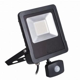 KANLUX 27097 | Antos-LED Kanlux fényvető lámpa mozgásérzékelő, fényérzékelő szenzor - alkonykapcsoló elforgatható alkatrészek 1x LED 4000lm 4000K IP44 fekete