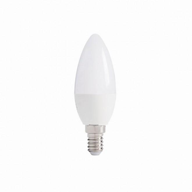 KANLUX 27296 | E14 5,5W -> 41W Kanlux gyertya C37 LED fényforrás IQ-LED 490lm 6500K 280° CRI>80