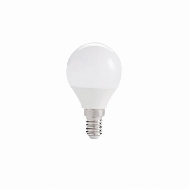 KANLUX 27300 | E14 5,5W -> 40W Kanlux kis gömb G45 LED fényforrás IQ-LED 470lm 2700K 220° CRI>80