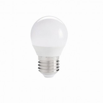 KANLUX 27304 | E27 5,5W -> 41W Kanlux kis gömb G45 LED fényforrás IQ-LED 490lm 4000K 220° CRI>80