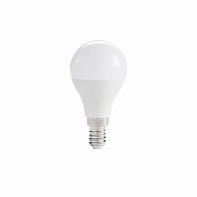 KANLUX 27307 | E14 7,5W -> 61W Kanlux kis gömb G45 LED fényforrás IQ-LED 830lm 4000K 200° CRI>80