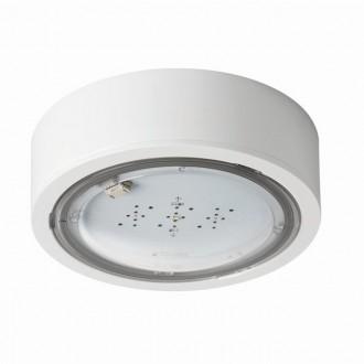 KANLUX 27380 | iTech Kanlux kettős feladatú vészvilágító 3h - fali, mennyezeti, beépíthető lámpa kerek 1x LED 245lm 5000K IP65 fehér