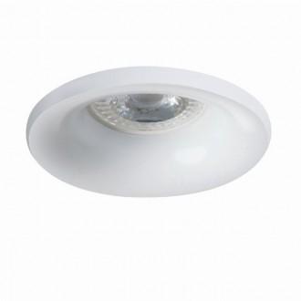 KANLUX 27800   Elnis Kanlux beépíthető lámpa kerek foglalat nélkül Ø98mm 1x MR16 / GU5.3 / GU10 fehér