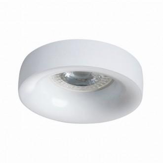 KANLUX 27804   Elnis Kanlux beépíthető lámpa kerek foglalat nélkül Ø98mm 1x MR16 / GU5.3 / GU10 fehér